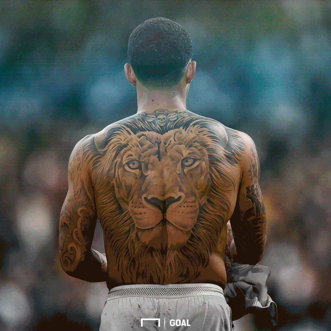Memphis Depay Lion Tattoo