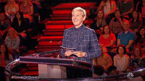 Image for the Tweet beginning: Got 'em! 😂 Watch Ellen's #GameofGames