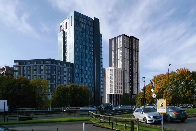 Purpose-built student accommodation block, Sheffield city centre - Code Architecture | PBSA News