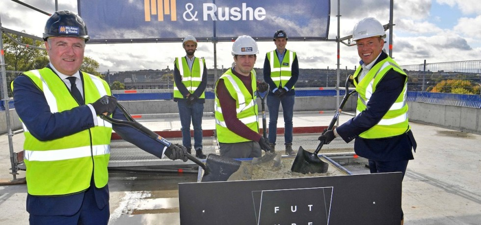 Guilden Park, Surrey topping out ceremony - Future Generation | PBSA News