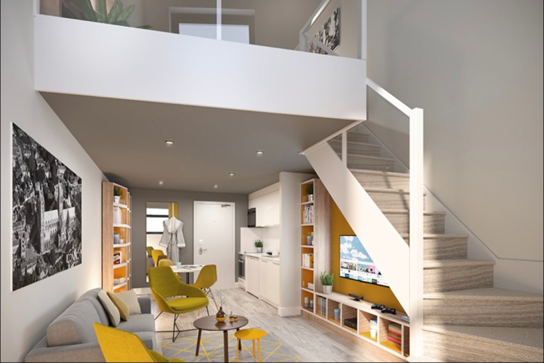 IconInc student apartment at Gravity - The Park Lane Group | PBSA News