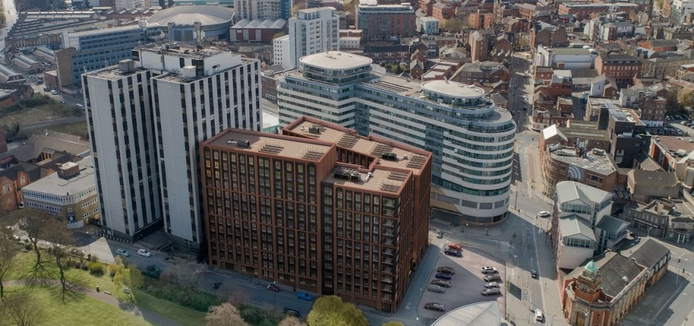 Aerial view of the Bendigo Building - Godwin Developments | PBSA News