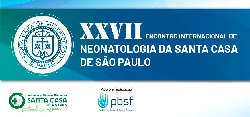 XXVII Encontro Internacional de Neonatologia da Santa Casa de São Paulo