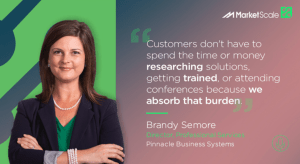 Brandy Semore, IT consulting podcast with Marketscale