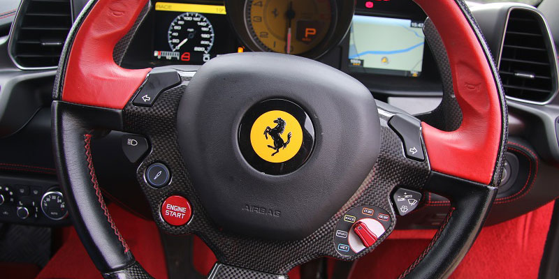 Ferrari Hire at PB Supercars