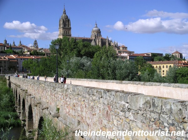 Roman Bridge Salamanca Spain