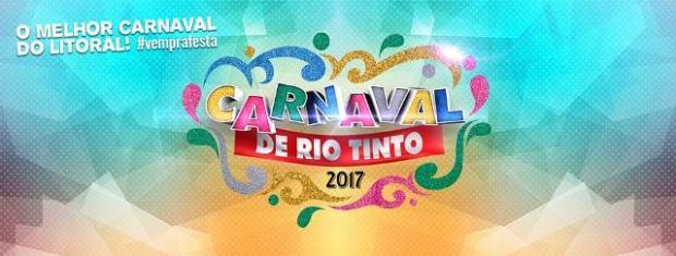 Marca oficial do Carnaval tradição 2017 de Rio Tinto