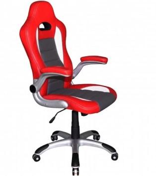 hjh office Racer Sport - Bureaustoel - Gamingstoel - Bureaustoel rood
