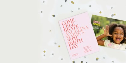 birthday party invitations for