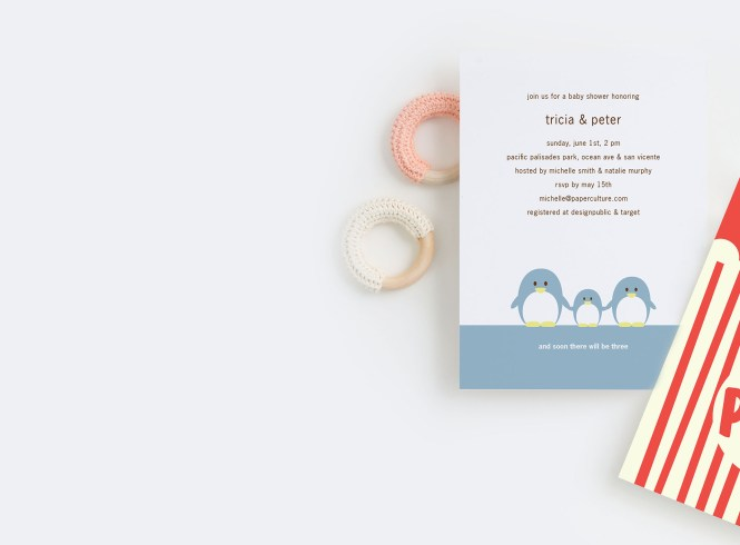 Baby Shower Invitations Paper Culture