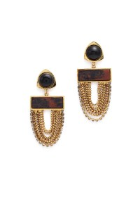 Onyx Sundown Earrings by Lizzie Fortunato for $65   Rent ...
