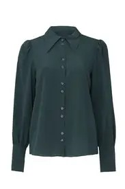 kate spade new york - Silk Point Collar Blouse