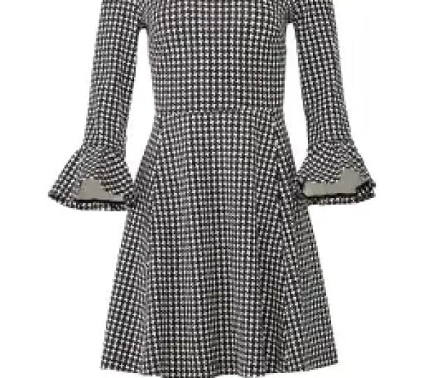 Houndstooth Ponte Dress By Kate Spade New York