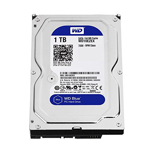 """Western Digital Caviar Blue 1 TB 3.5"""" 7200RPM Internal Hard Drive"""