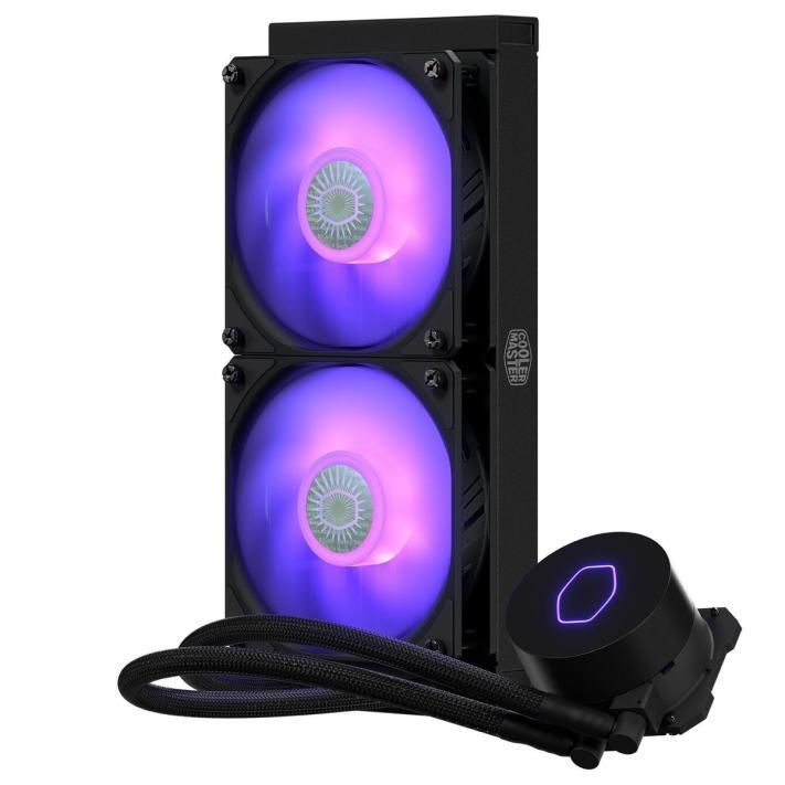 Cooler Master MASTERLIQUID ML240L RGB V2 65.59 CFM Liquid CPU Cooler