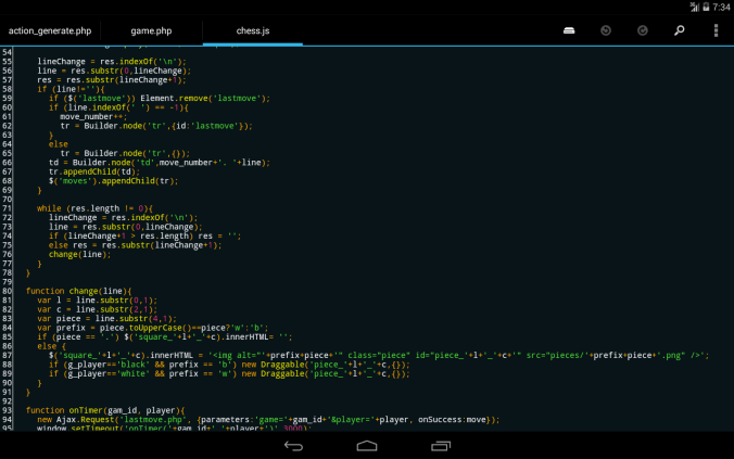 html-android