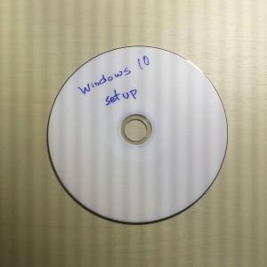Windows 10セットアップディスク
