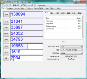 eMachines E732Z-A12Bのパワーアップ計画