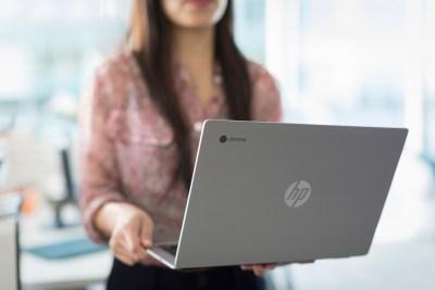 米HP社が高性能Chromebookを発表。