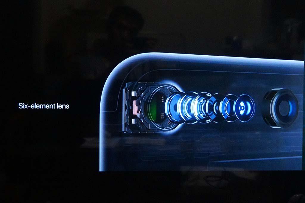 iPhone 7のカメラ機能