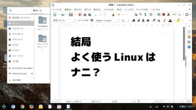 結局、よく使うLinuxは何?