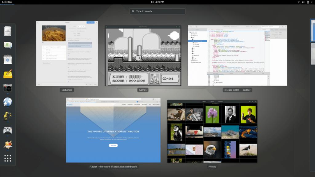 Linux のデスクトップ環境: GNOME
