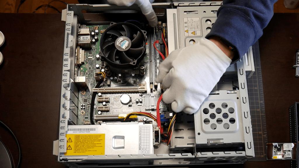 ジャンク NEC Valustar L PC-VL150/DS をパワーアップしてみた!