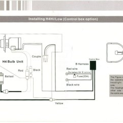 H7 Bulb Wiring Diagram 1992 Dodge Dakota Tail Light Headlight Harness Get Free Image About