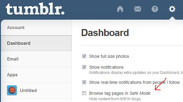 How to Turn Off Safe Mode on Tumblr | PC-MIND