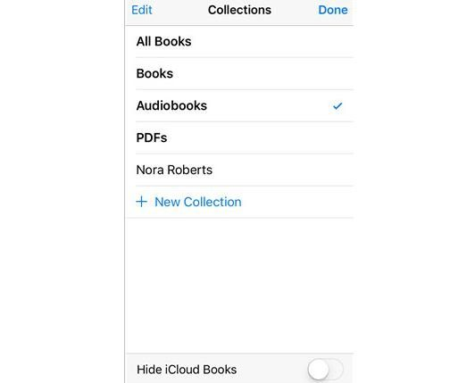 how to access audiobooks on iphone