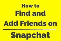 How to Search for People on Snapchat