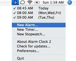 How to Set an Alarm on Mac