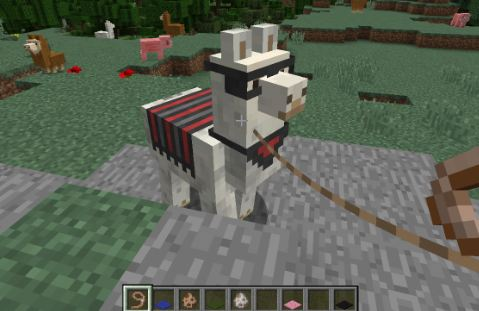 How to Control a llama in Minecraft | PC-MIND