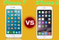 What is Difference between iPhone 6 and 7.