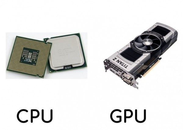 What is the Difference Between the Data and Functionality of a CPU and GPU