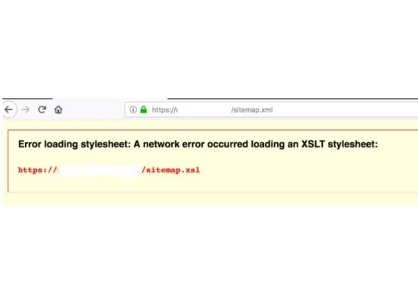 Resolve XSLT Errors in WordPress XML Sitemaps