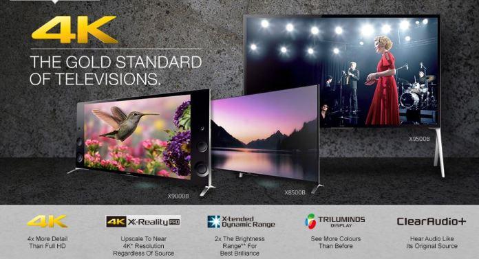 Sony BRAVIA 4K LED TV
