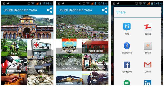 Shubh Badrinath Yatra App