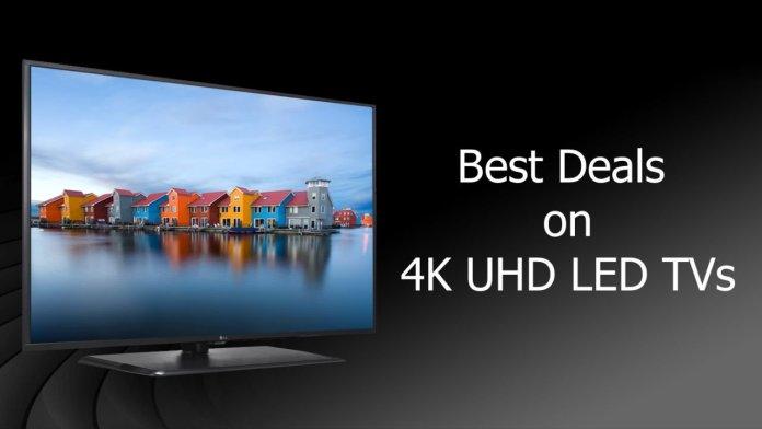 4K LED TVs Deals on Flipkart