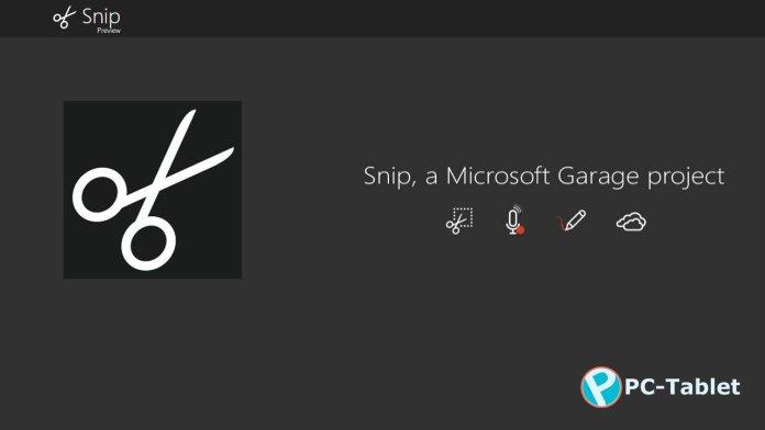 Microsoft Snip Tool