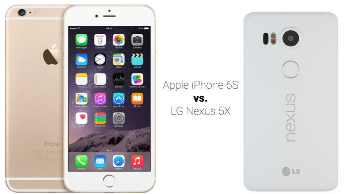 Apple iPhone 6S vs. LG Nexus 5X