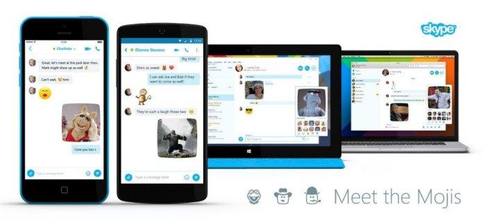 Skype adds Bollywood Mojis