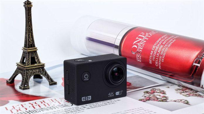 ELE CAM 4K Action camera