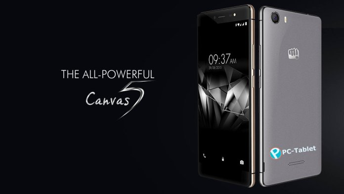 Micromax Canvas 5
