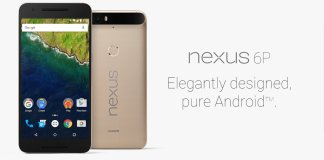 Huawei Nexus 6P Gold Special Limited Edition
