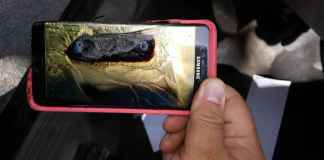 Safe Galaxy Note 7 explodes