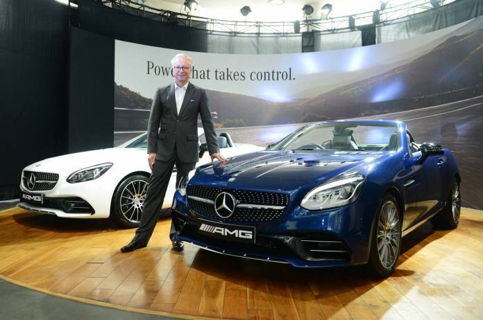 Roland Folger, the Managing Director of the Mercedes Benz