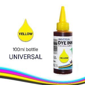 100ml Yellow Refill Ink Bottle