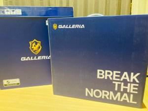 GALLERIA XL7C-R36開封画像20210807