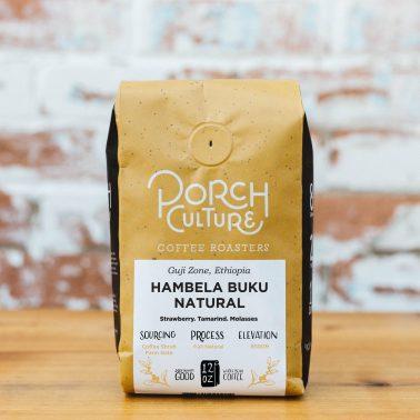 ethiopia hambela buku natural process coffee